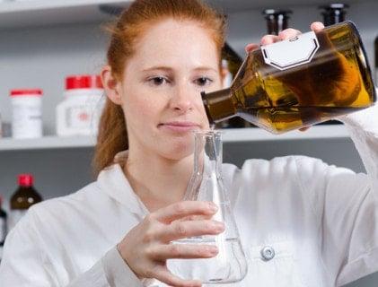 Flessen, potjes en reservoirs