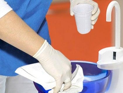 Disinfezione per sistemi di aspirazione