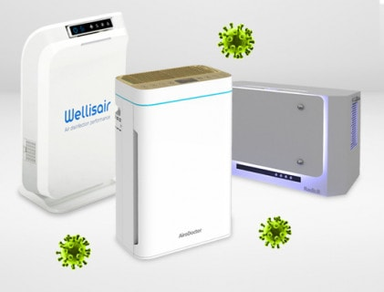 Dispositivi di disinfezione per camere