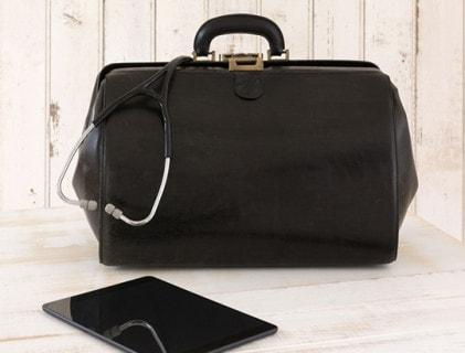 Arzttaschen und Pflegetaschen