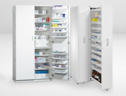 Gabinetes para medicamentos