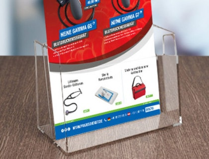 File Card Holders & Brochure Stands
