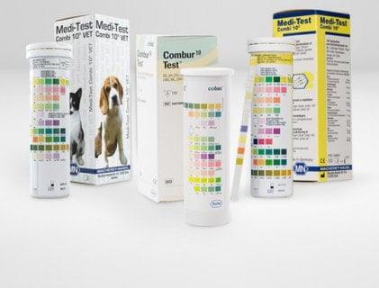 Bandelettes test urinaires