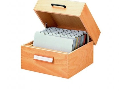 File-Card Boxes & Holders