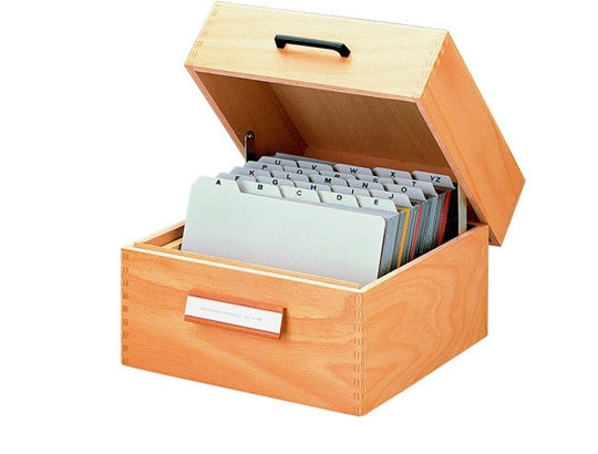 Filing boxes