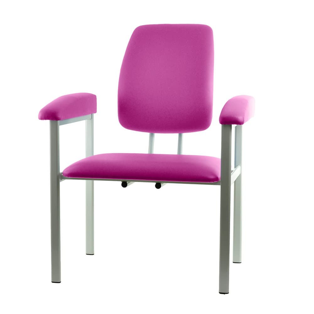 Astonishing Exam And Phlebotomy Chair Xxl Magenta Theyellowbook Wood Chair Design Ideas Theyellowbookinfo