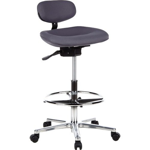 Ergonomic Swivel Stool Anthracite