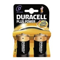 Duracell Plus Power D, desechables
