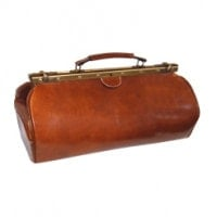 """Hamburg"" Leather Doctor's Bag"