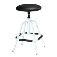 Rotable stool, upholstered