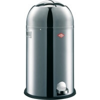 "Stainless Steel ""Kickmaster"" Pedal Rubbish Bin, 33 Litres"