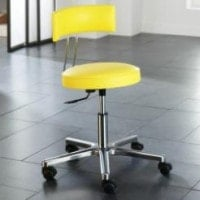 Special rotary stool with inclination