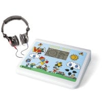 Piloten-Hörtest Audiometer für Kinder