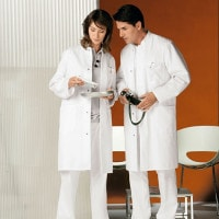 His and Hers Lab Coat
