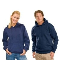 Men and female hooded sweatshirt