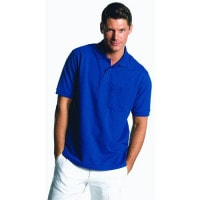 Robust Polo-Shirt with front pocket