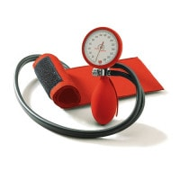 Boso Clinicus II Sphygmomanometer red