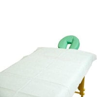 Draps à usage unique pour table d'examen et de massage