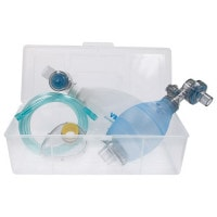 Silicone Resuscitation Bag Set