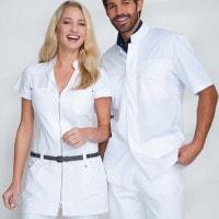Scrub tunic for men