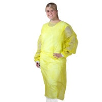 Disposable Gown, Fluid-Repellent