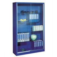 Armoire à portes coulissantes en verre