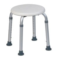 Height-Adjustable Shower Stool