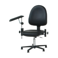 Height-Adjustable Phlebotomy Chair