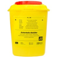 Sharps Container, 22 Litres