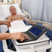 ECG de repos GE MAC 2000