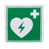 AED Plastic Sign, luminescent