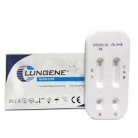 Test combinado de antígeno Covid-19 e influenza de CLUNGENE