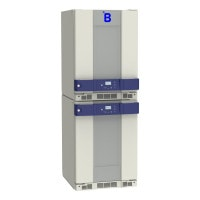B Medical Systems Combined Laboratory Refrigerator and Freezer