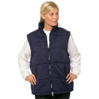 Windproof quilted gilet