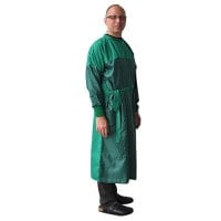 Medical Gown with Protection Zones
