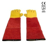 Safety Gloves for Handling Dogs & Cats
