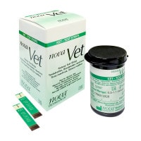 Bandelettes de test cétone NovaVet