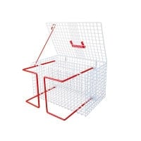 Cat Cage with Holding Mechanism