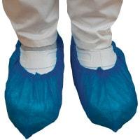 Sur-chaussure chirurgicale, bleu