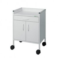 Cupboard Trolley with 1 Drawer