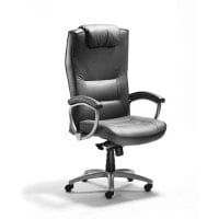 Leather-executive chair