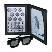 Polarisationsbrille für Stereotest