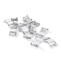 Verbandklammern Aluminium, 100 Stück