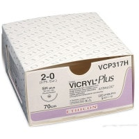 Vicryl Plus Violet Absorbable Sutures