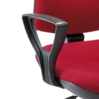 Arm rests for office rotary stool
