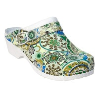 AWC heeled clogs