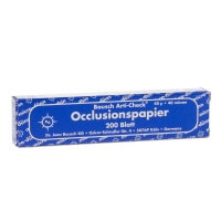 Occlusionspapier