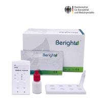 Test combinato per antigene Covid-19 e influenza Beright