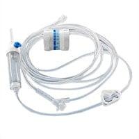Przyrząd do infuzji z łącznikiem Y