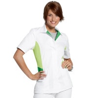 Button Placket Scrub Tunic «Color»